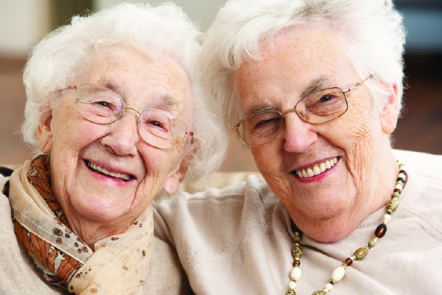 Happy Ladies at Guardian Elder Care Main Office Located in Brockway, PA Pennsylvania