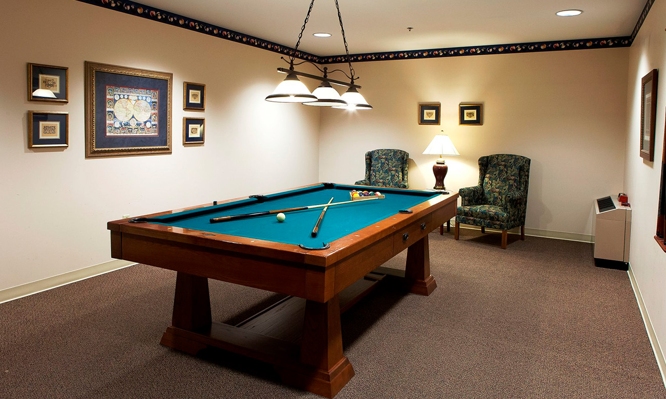 Billiards Room Photo