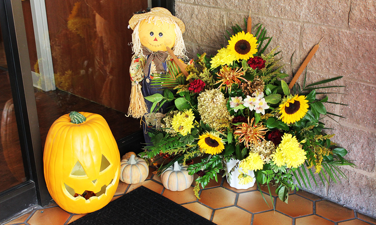 Pumpkin & Scarecrow Decor